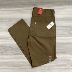 Levi's 511 Slim Fit Hybrid Trousers NWT